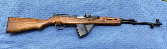 Chinese SKS 762 x 39 Military Rifle with Engravings, w/ 20rd Star Clip SN: 0138 7201677