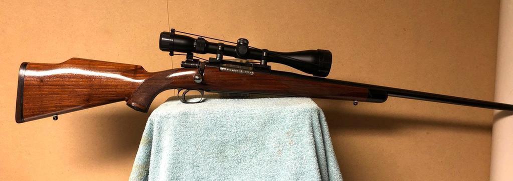 22-250 Rifle w/ Pentax Scope, SN: 163049