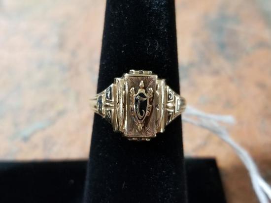 10k Gold Ring w/ Gemstone - 4.1 Grams