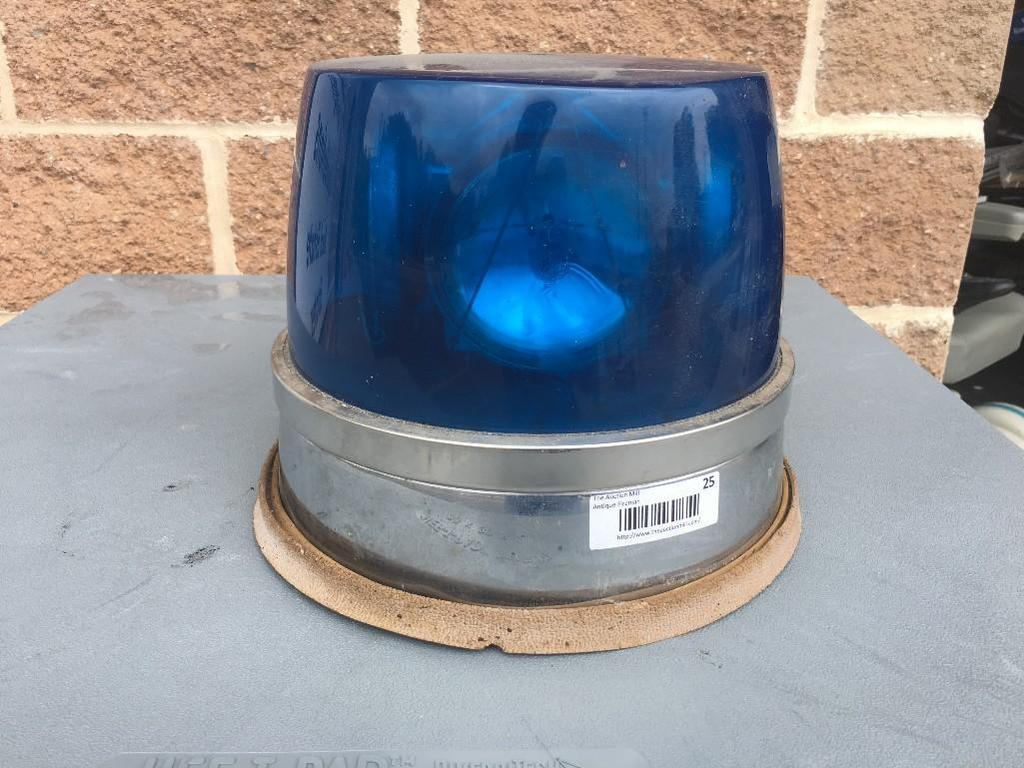 Federal Beacon Light 4 Beam, Color: Blue
