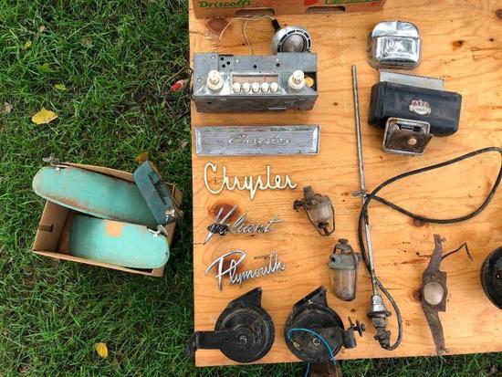 Car Emblems, Radio, Visor, Parts