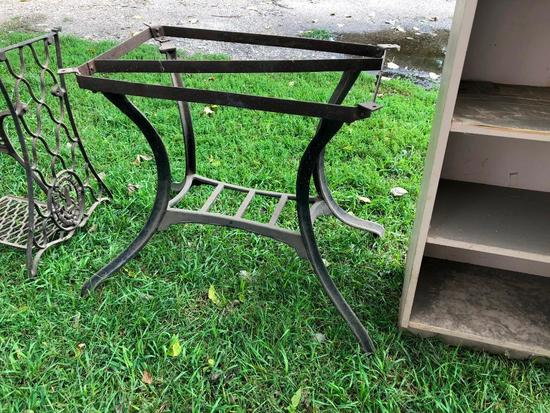 Iron Table Base or Stand