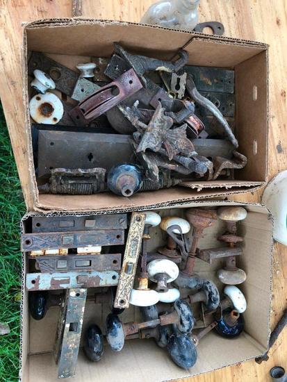 Antique Door Hardware, Door Knobs, Misc.