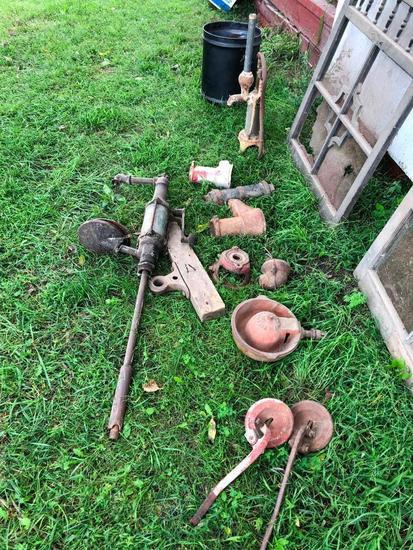 Old Pitcher Pump Parts