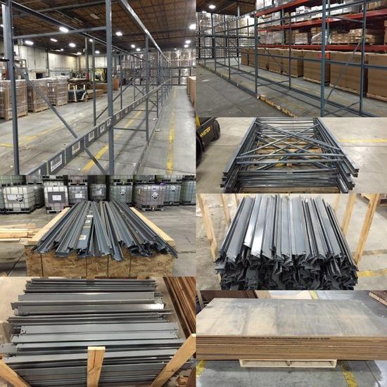 Warehouse Pallet Racking & Shelving Omaha - Timed