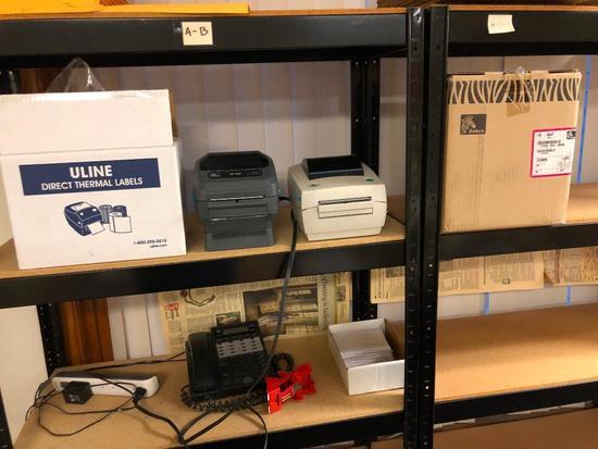 Label Printers, Zebra, ULINE