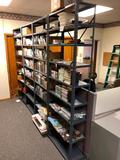 Lot of 4 Metal Shelving Units, Each: 84in x 30in x 12in