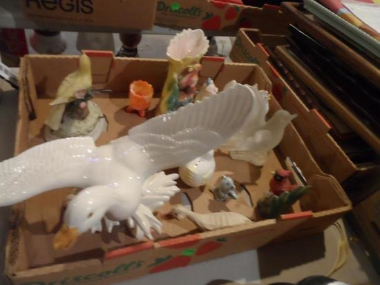 Ceramic Birds and Other Animals, Salt & Pepper Pigs