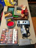SI Basketball Book, Video Camera, Slap Chop, Misc. Books, Pink Depression, Misc.