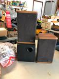 Advent Mini Advent Speaker Set, Subwoofer and Speakers