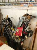 Golf Club Maker Kit, Huge Assortment of Clubs, Club Repair Books and Parts