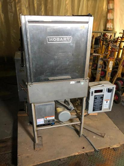 Hobart Model: AM-14 Pass Through Dishwasher, SN: 32614-K - Never Used, but Has Been Stored for Years