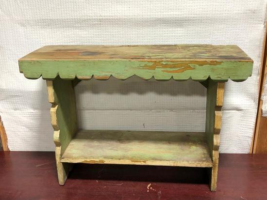Primitive Bench, 30in x 20in x 11in