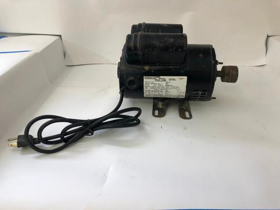 CHICAGO ELECTRIC MOTOR. 1 H.P. Compressor Duty, model 1PF56B34D145A