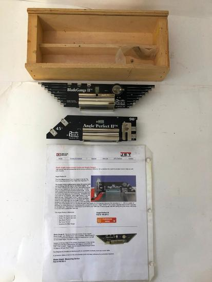 PACIFIC RACK & MACHINE, Precision Height and Angle Setting Gauges, one of each in this boxed set