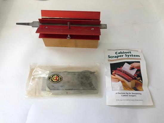 WOODSMITH Scraper Sharpening Jig.