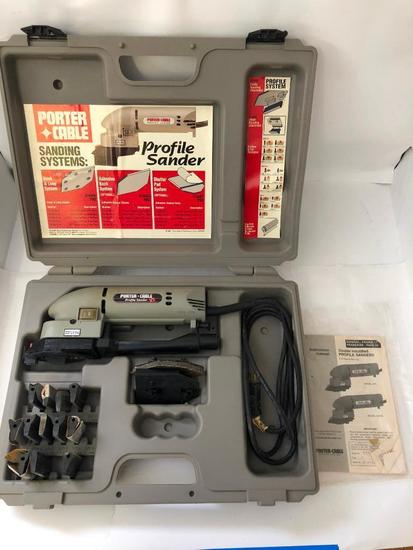 PORTER-CABLE, Profile Sander Kit, Model 444VS sander with dust collection