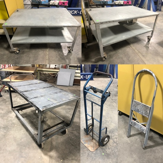 Material Handling & Store Fixture Timed Auction