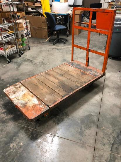 HD Dock Cart / Utility Flatbed Cart, 64in x 32in