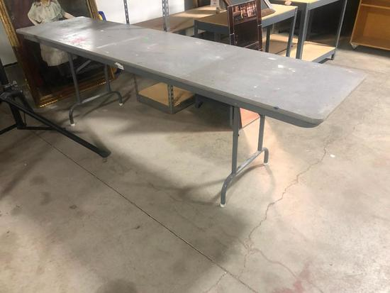 Folding Banquet Table, 96in x 24in