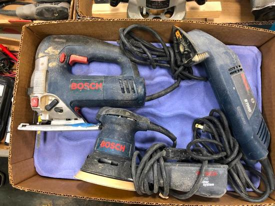 Bosch Detail Sander, Jig Saw and Orbital Sander