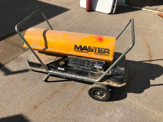 Master Torpedo Heater, 150,000 BTU