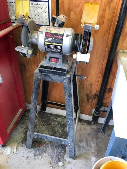 Craftsman 8in Bench Grider on Tool Stand
