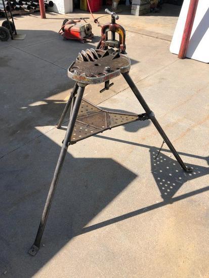 Ridgid Model: 40 A Tri-Stand Yoke Pipe Vise