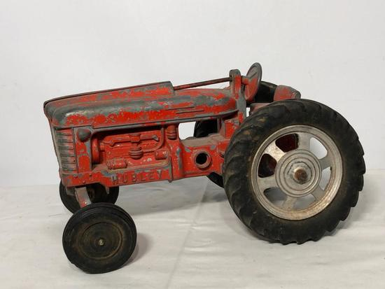 Hubley Tractor Toy