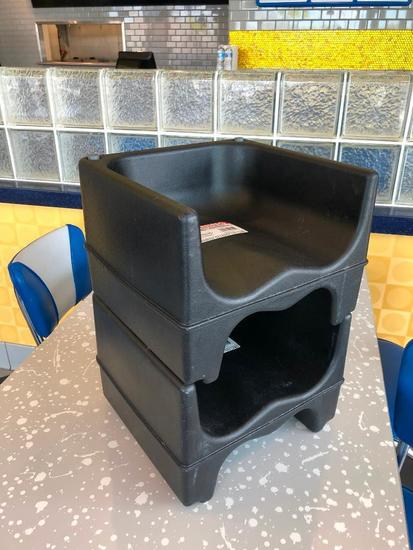 Lot of 2 Cambro Booster Seats 200BC
