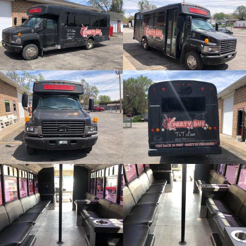 2004 Chevrolet C4500 Duramax Diesel 16+ Passenger Bus - Party Bus, 272,907 Miles, Well Maintained
