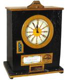 Coin-operated slot machine, Bryans Twelvewin Clock, Kegworth, Derby, England, Works Great