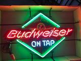 Budweiser On Tap Neon Beer Sign