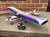 Superstar 40 Gas Powered RC Radio Control Airplane w/ 32 Channel Airtronics Vanguard Radio Receiver