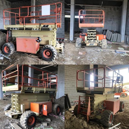 JLG Industries Scissor Lift Model: 40-RTS, SN: 0200085556, Maximum Platform Height: 40 Feet