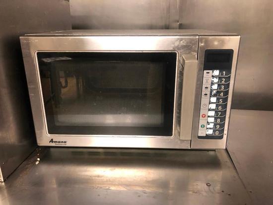 Amana Commercial Microwave Model Rcs10ts