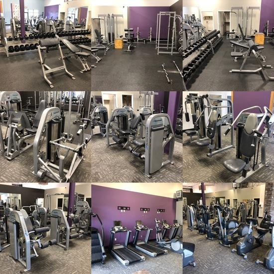 Anytime Fitness Bellevue, NE Exercise Equipment