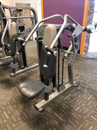 Nautilus Nitro Plus Selectorized Weight Overhead Press Machine