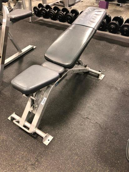 Nautilus Adjustable 0 to 90 Degree Movable Bench