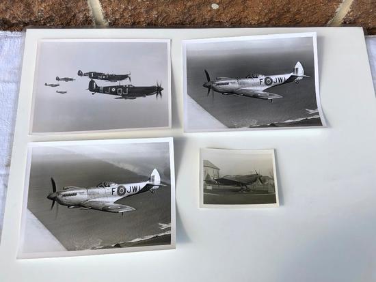 4 Spitfire Photographs