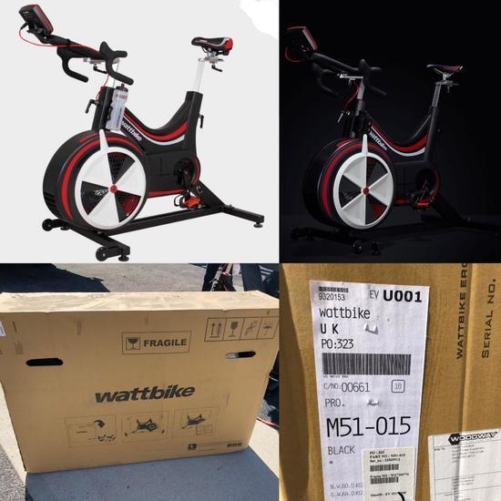 Wattbike Pro Pro/Trainer - Brand New Assembled (New Retail: $2,975.00)
