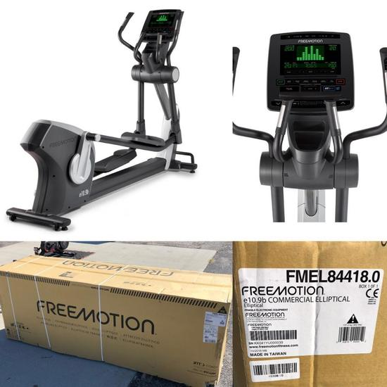 FREEMOTION e10.9b Commercial Elliptical - New Sealed in Box - (New Retail: $5,695.00)