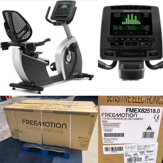 Freemotion r10.9b Recumbent Bike - New Sealed in Box - (New Retail: $4,050.00)