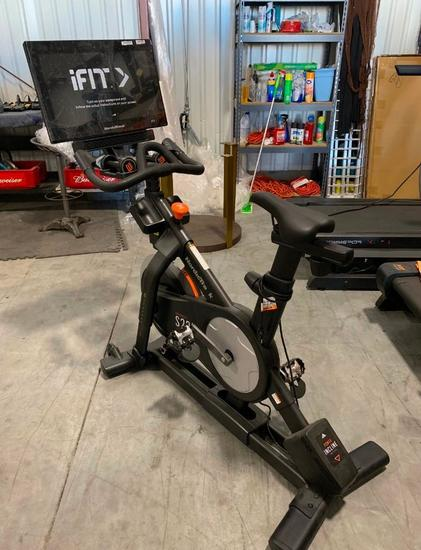NordicTrack iFit Model S22i Commercial Studio Cycle - Like New, Assembled (Retail Price: $1,999)