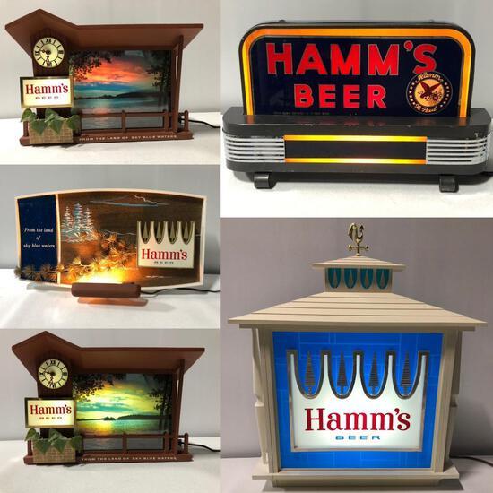 Hamm's Beer Memorabilia, Signs & Advertising