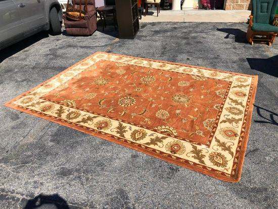 Dynamic Rugs, Charisma Area Rug, 96in x 132in, Very Nice, Has One Tear