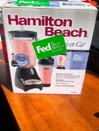 Hamilton Beach Blender, New in Box
