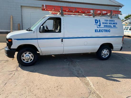 2010 Ford Econoline E-250 Cargo Van, 95,325 Miles, Automatic, Gasoline