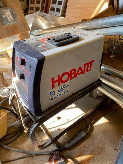 Hobart Handler 140 Wire Feed Welder on Stand, 115v
