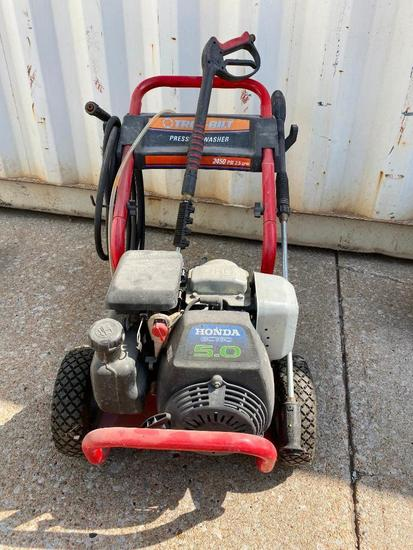 Troy Bilt Pressure Washer w/ 5HP Honda Gas Engine, 2450 PSI, 2.5GPM, Model: 01903